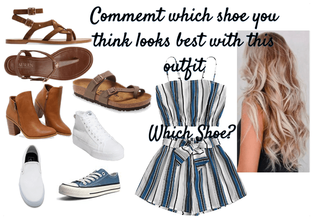 Which Shoe?