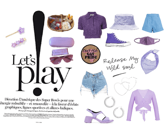 purple picnic