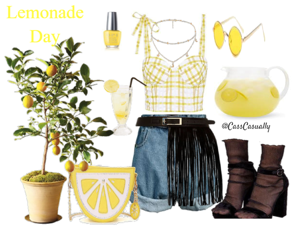 Lemonade Day Party Outfit