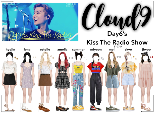 Cloud9 (구름아홉) | Day6's Kiss The Radio Apperance