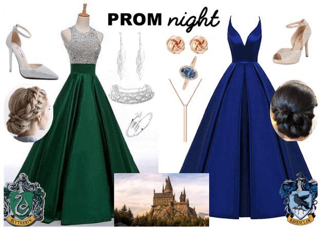 Ravenclaw and Slytherin go to Prom