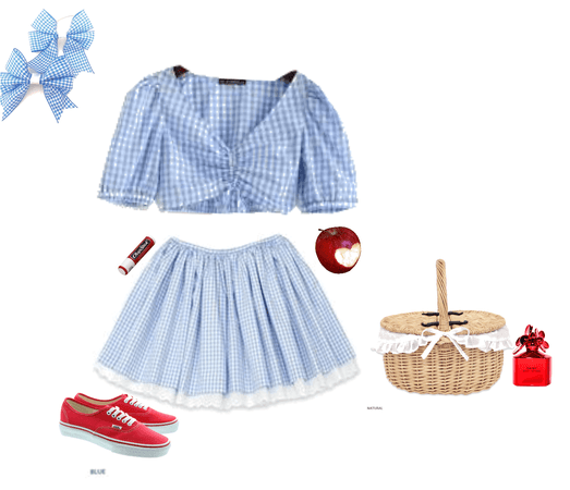 Dorothy Gale coquette outfit