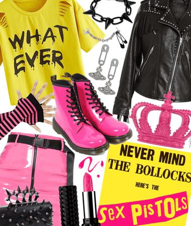 Album Inspiration - Sex Pistols