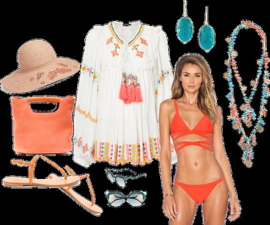 Hot beach set