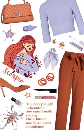 The Scorpio Girl