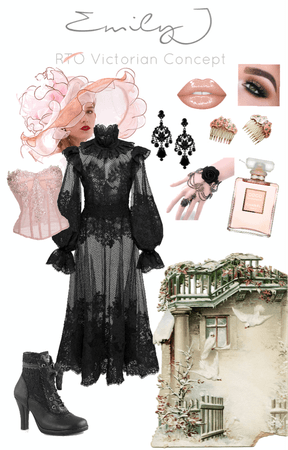 Victorian Inspired Concept - J