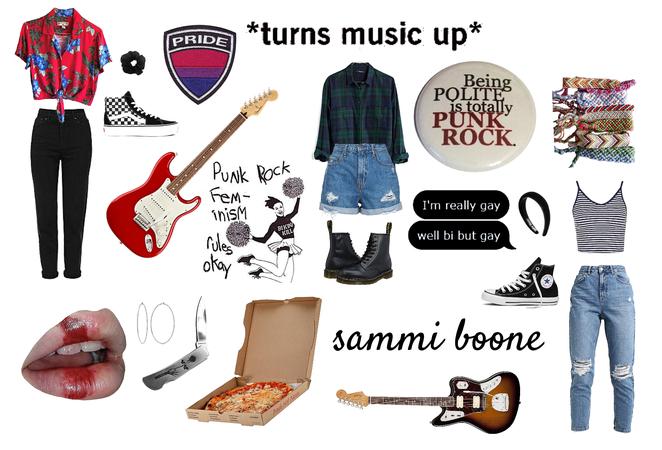 sammi boone — pop punk oc