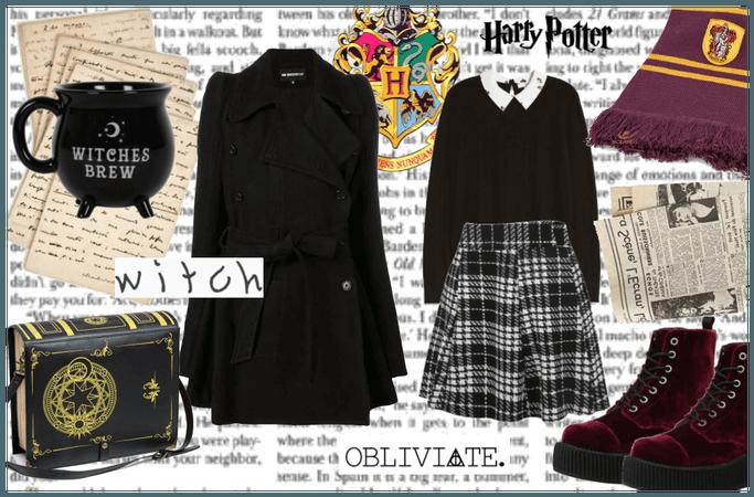 diy hogwarts' witch