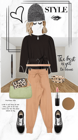 The First Piece - Styled with the first item that appears in several categories...