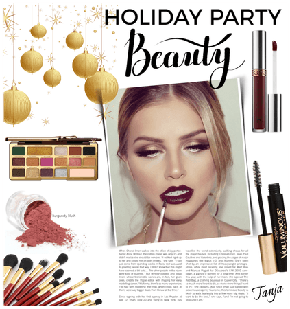 Holiday Party Beauty