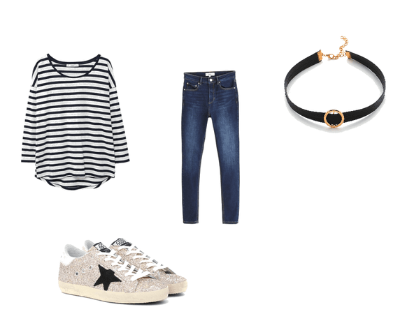 Simple school outfit