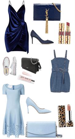 choose your blue dress