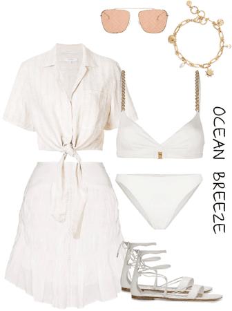 Beach in white