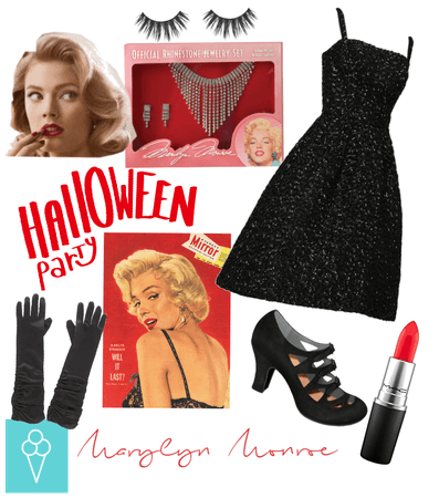 # Halloween costume Diy # Shoplook # Marilyn Monro