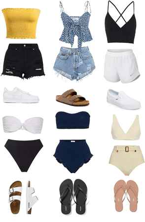 summer (outfits) pt 1