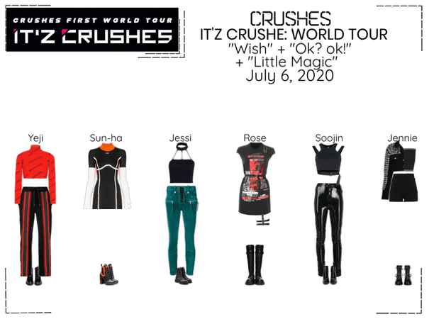 Crushes (호감) IT'Z Crushes | New York Day 1