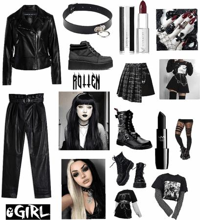 egirl/emo/goth