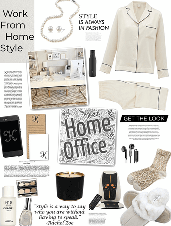 work from home style