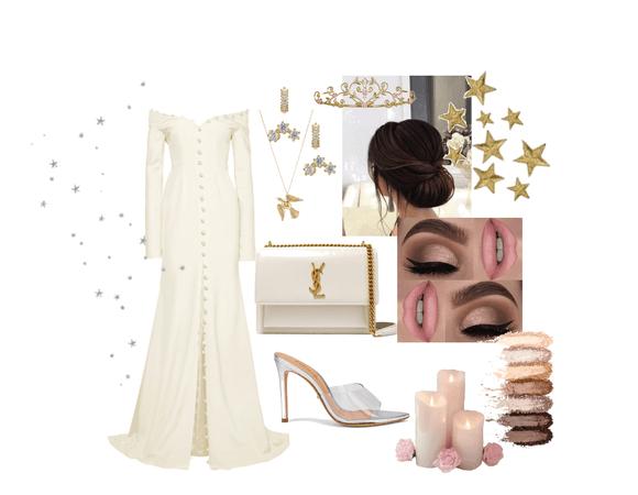 dina wedding outfit