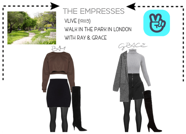 [THE EMPRESSES] WALK IN THE PARK WITH RAY & GRACE
