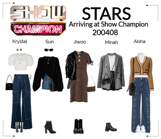 STARS | Arriving at Show Champion | 200408