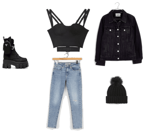 everyday chilling outfit