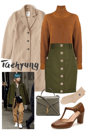 Brown/Olives TaehyungCore