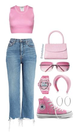 Bratz Y2K Barbie Pink Look