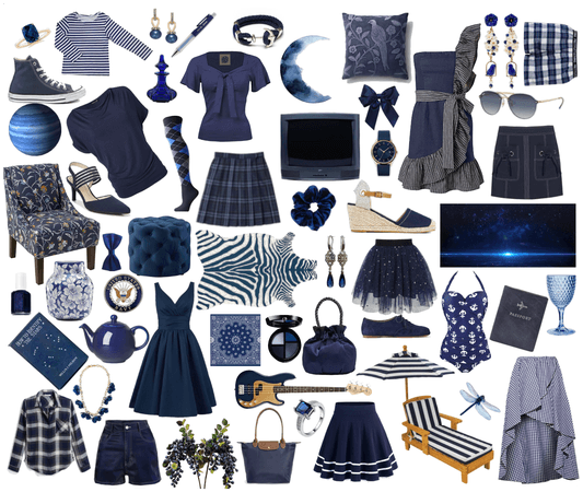 Navy Collage