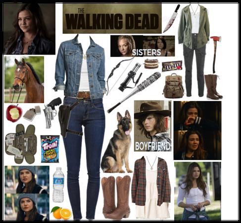 The Walking Dead OC: Hayley Greene