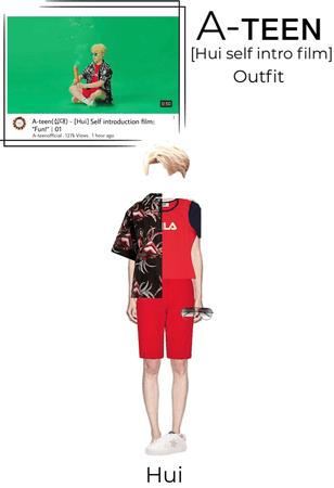 "A-teen [Hui] self introduction film ""Fun!"" | outfit"