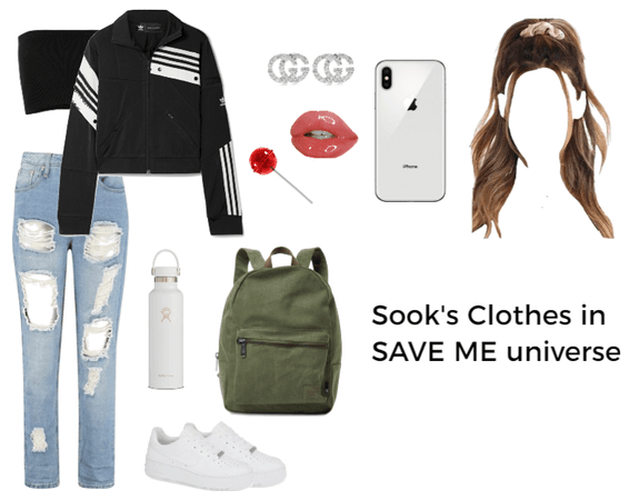 Sook's Clothes in SAVE ME universe