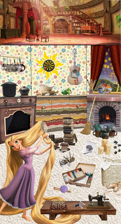 Rapunzel's Guide to Staying In (Inspired by the song When Will my Life Begin from Tangled)