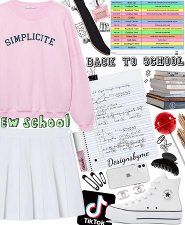 high school 💎💗