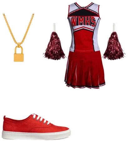 Emma Adams Cheerios! outfit
