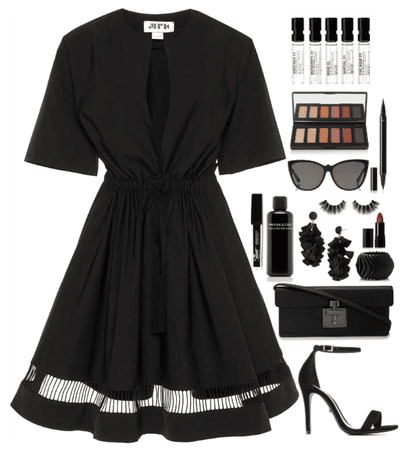 Black, black and black