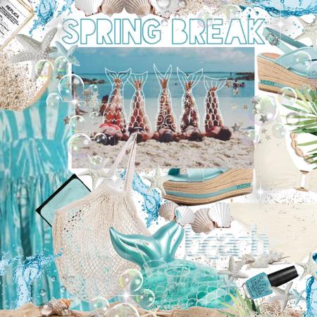 spring break- at the beach