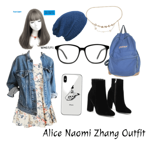 Alice Naomi Zhang Outfit