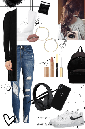 Casual Outgoing look