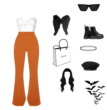 preppy Halloween outfit