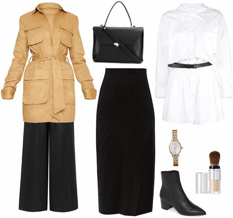 business modest wear