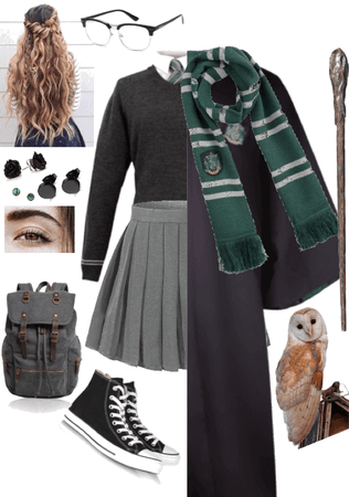 Natasha Black- Hogwarts Uniform