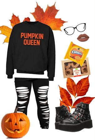 autumn pumpkin queen