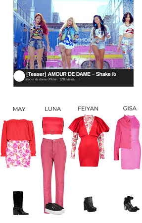 [MV TEASER] Amour De Dame – Shake it