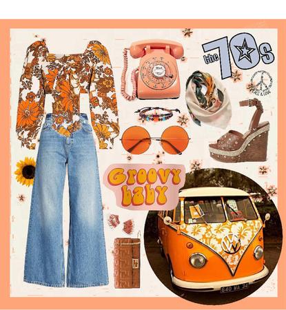 70s Style Hippie