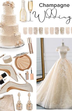 dream wedding - champagne