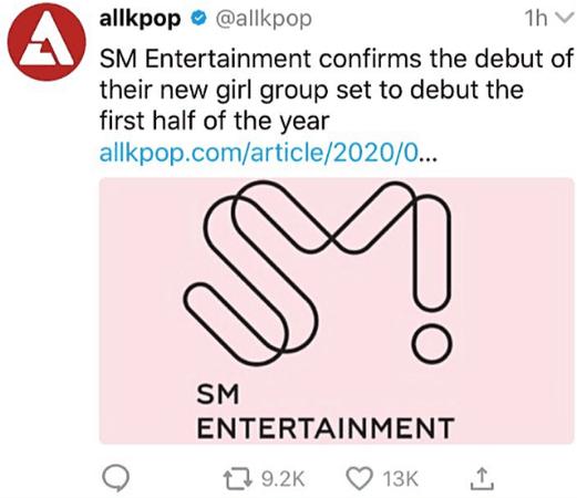 LOVE SCENE ♡ SM NEW GIRL GROUP DEBUT