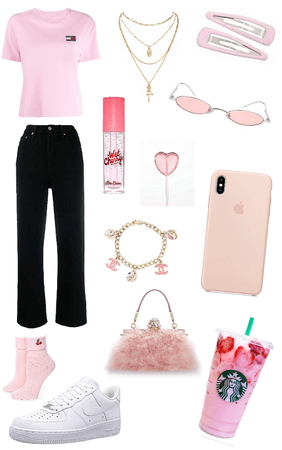 pink outfit 💕