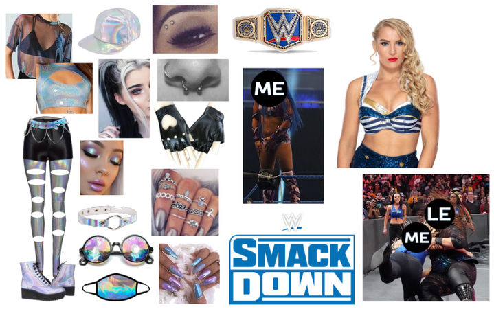 WWE Imagine - Smackdown Champion Against Lacey E.
