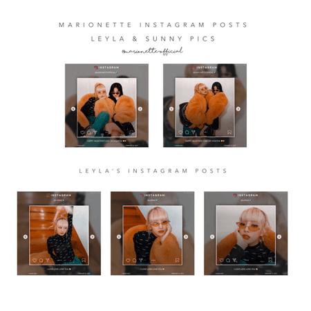 마리오네트 (𝗠𝗔𝗥𝗜𝗢𝗡𝗘𝗧𝗧𝗘) - [LEYLA_SUNNY] Instagram Posts